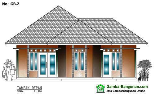Desain rumah sederhana di bekasi