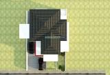 tampak atas rumah minimalis 2 lantai di semarang