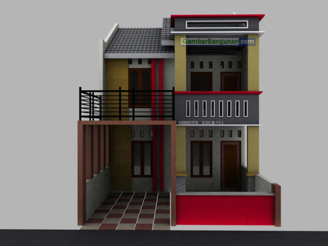desain rumah di lahan sempit