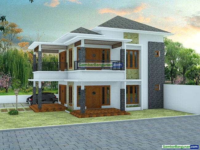 desain renovasi rumah tampak samping