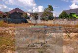 tanah yang akan di desain rumah kost