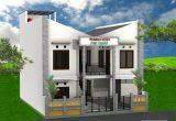 jasa desain rumah kost minimalis 2 lantai