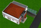 tampak atas rumah minimalis semarang